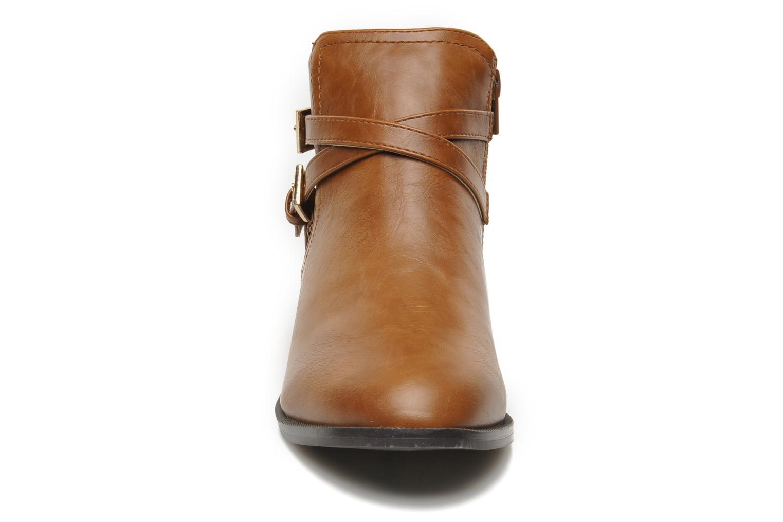 Bottines et boots Divine Factory D-cable Marron vue portées chaussures