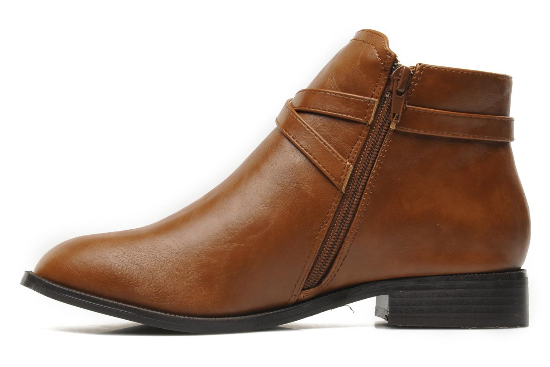 Bottines et boots Divine Factory D-cable Marron vue face