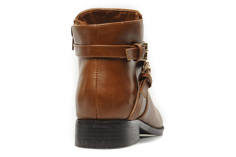Bottines et boots Divine Factory D-cable Marron vue droite