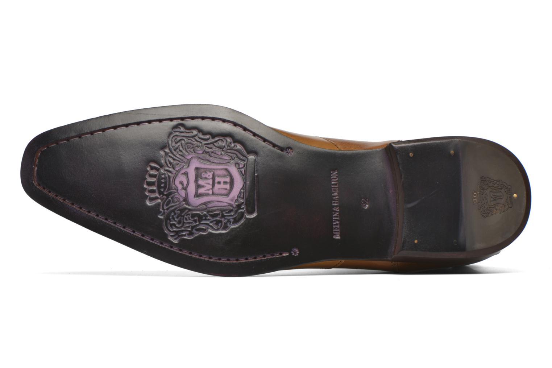 Bottines et boots Melvin & Hamilton Elvis 12 Marron vue haut