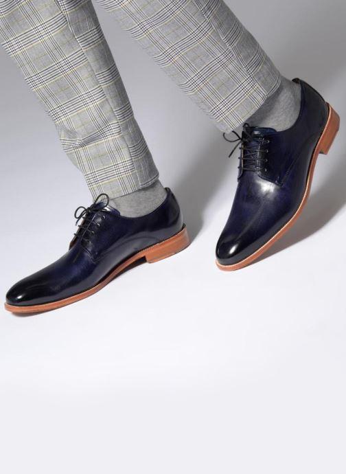 Chaussures à lacets Melvin & Hamilton Tom 8 Bleu vue bas / vue portée sac