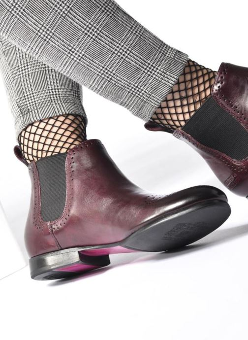 Bottines et boots Melvin & Hamilton Sally 16 Marron vue bas / vue portée sac