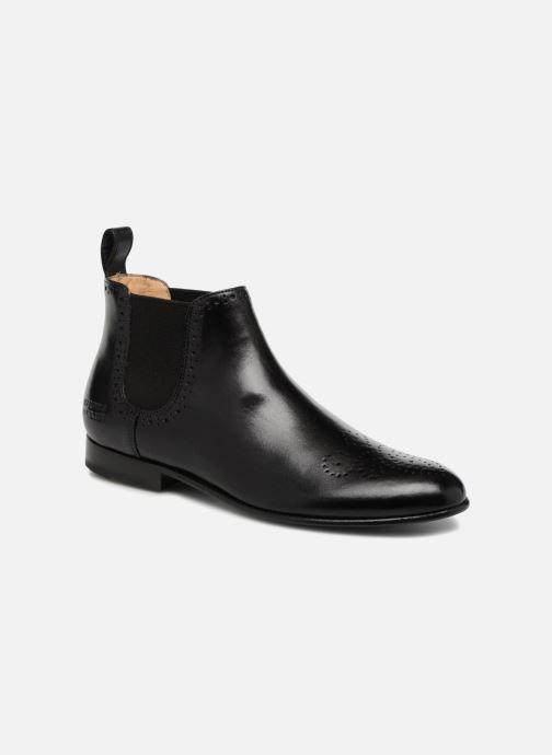 Boots en enkellaarsjes Melvin & Hamilton Sally 16 Zwart detail