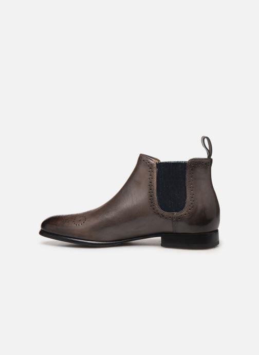 Boots en enkellaarsjes Melvin & Hamilton Sally 16 Grijs voorkant