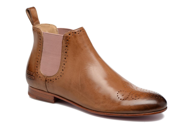 Bottines et boots Melvin & Hamilton Sally 16 Marron vue détail/paire