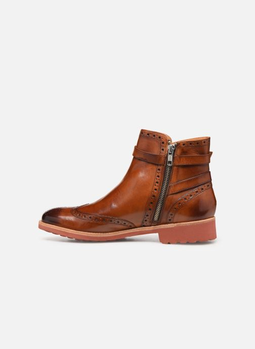 Ankle boots Melvin & Hamilton Amelie 11 Brown front view