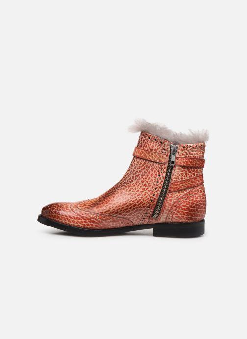 Bottines et boots Melvin & Hamilton Amelie 11 Rouge vue face