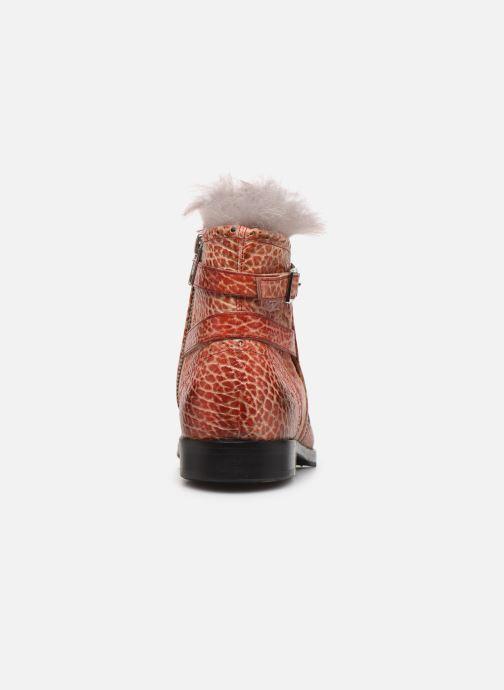 Bottines et boots Melvin & Hamilton Amelie 11 Rouge vue droite