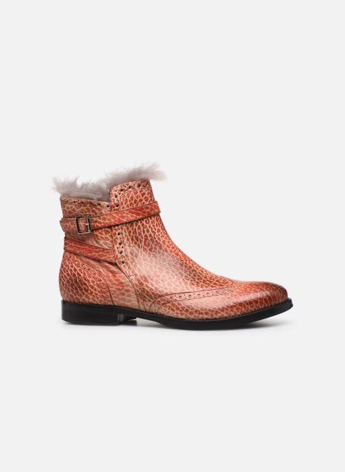 Bottines et boots Melvin & Hamilton Amelie 11 Rouge vue derrière