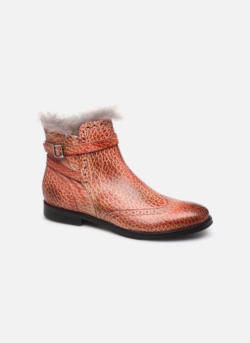 Bottines et boots Melvin & Hamilton Amelie 11 Rouge vue détail/paire