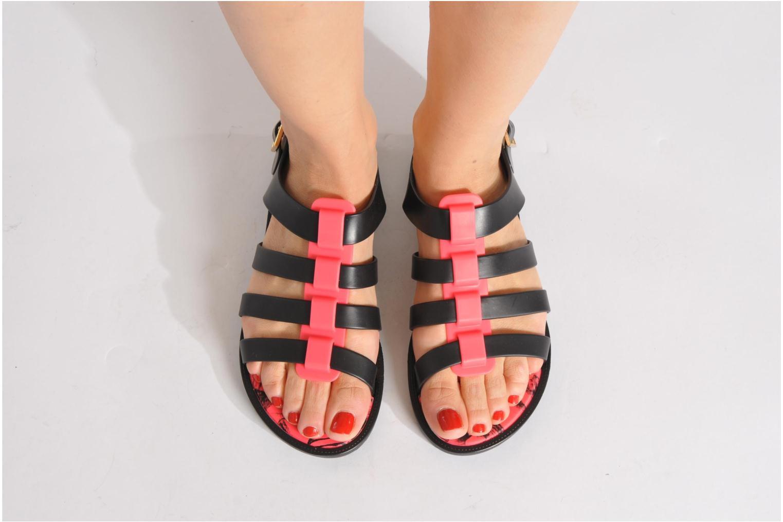 Sandales et nu-pieds Melissa Melissa Flox + Jason Wu Sp Ad Blanc vue bas / vue portée sac