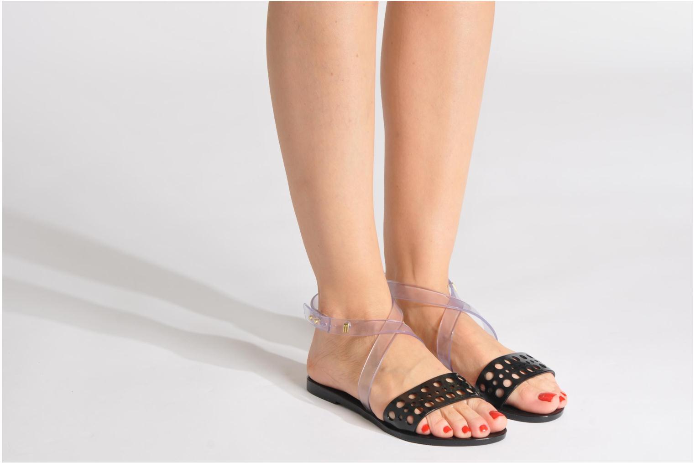 Sandales et nu-pieds Melissa Melissa Tasty Sp Ad Noir vue bas / vue portée sac