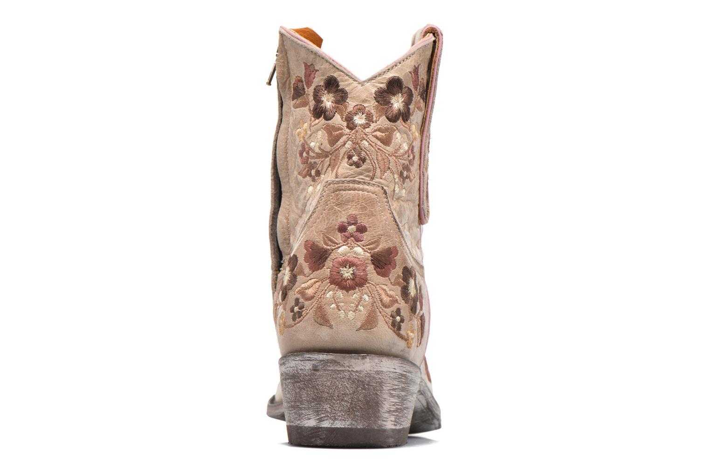 Bottines et boots Mexicana Sorazipper Multicolore vue droite