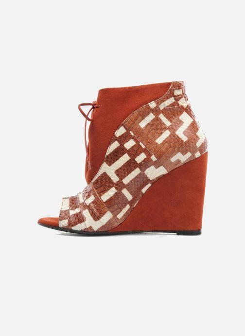 Boots en enkellaarsjes MySuelly Julie2 Bruin voorkant