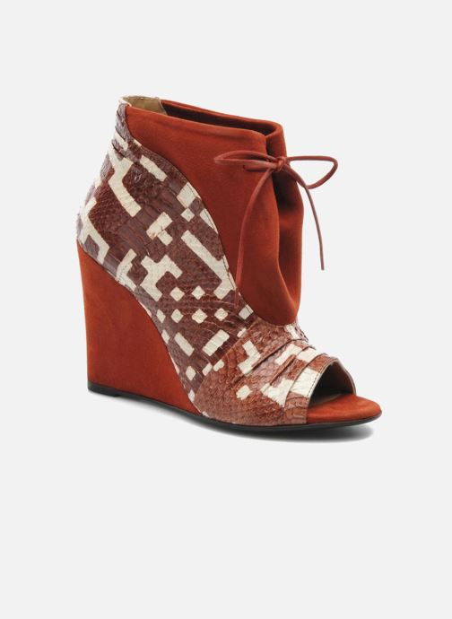 Boots en enkellaarsjes MySuelly Julie2 Bruin detail