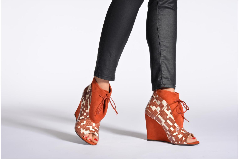 Bottines et boots MySuelly Julie2 Marron vue bas / vue portée sac