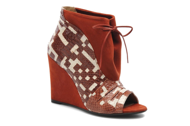 Bottines et boots MySuelly Julie2 Marron vue détail/paire