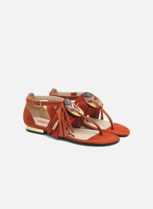 Sandales et nu-pieds MySuelly Mel Marron vue 3/4