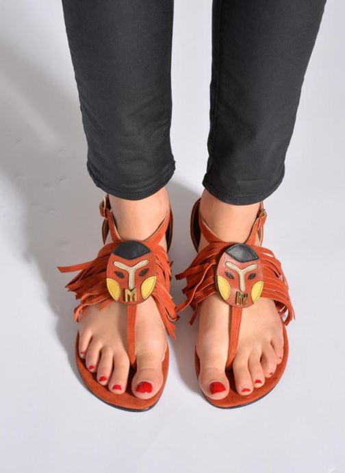 Sandali e scarpe aperte MySuelly Mel Marrone immagine dal basso