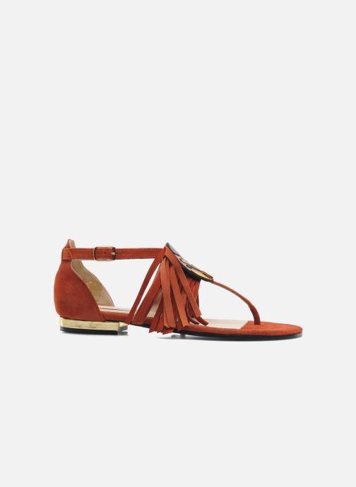 Sandales et nu-pieds MySuelly Mel Marron vue derrière