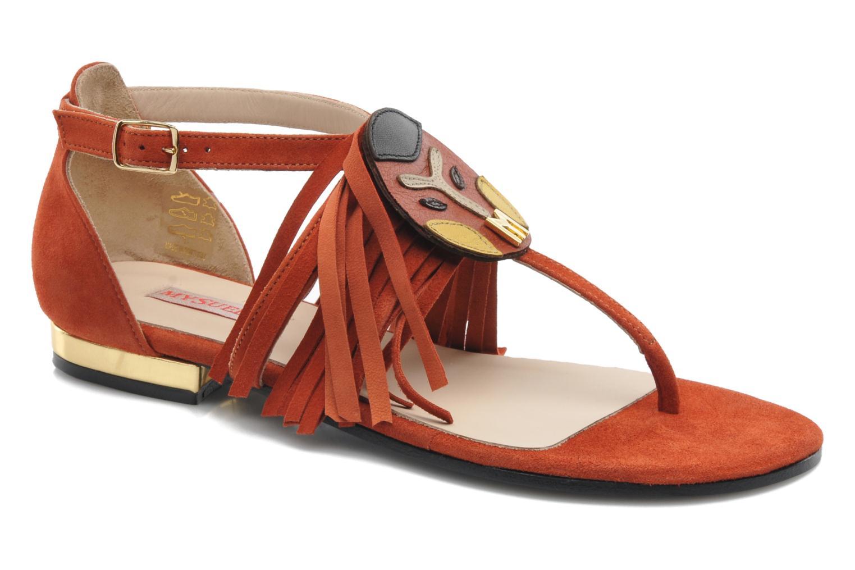 Sandales et nu-pieds MySuelly Mel Marron vue détail/paire