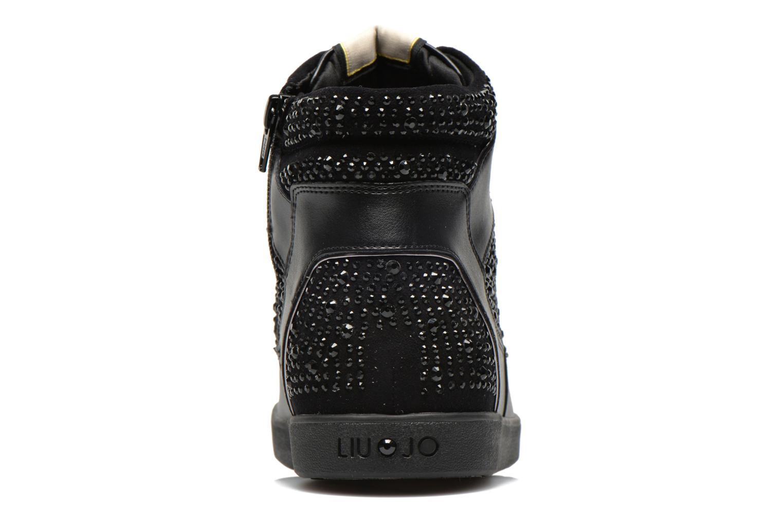 Baskets Liu Jo Sneaker Alta Aura Noir vue droite
