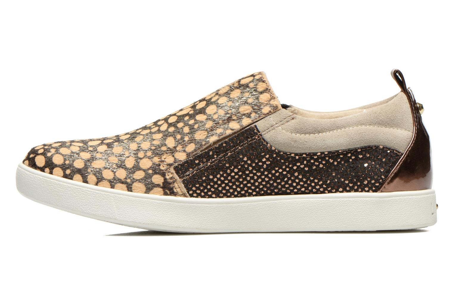 Baskets Liu Jo Slip on Nico Or et bronze vue face