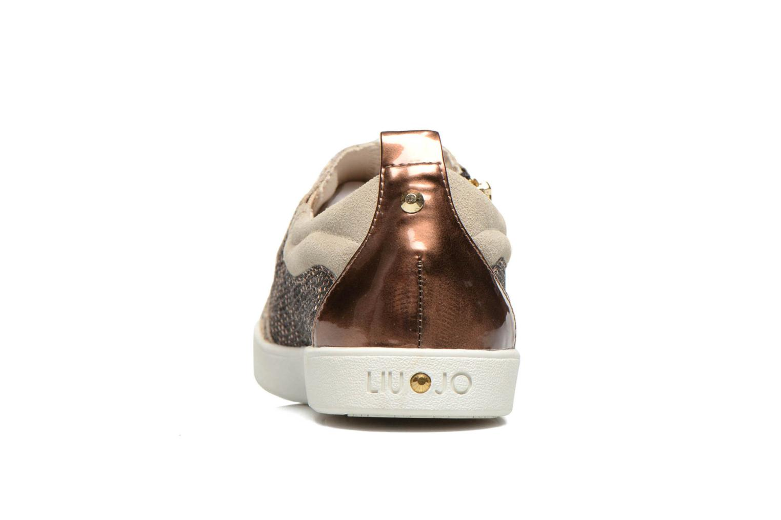 Baskets Liu Jo Slip on Nico Or et bronze vue droite