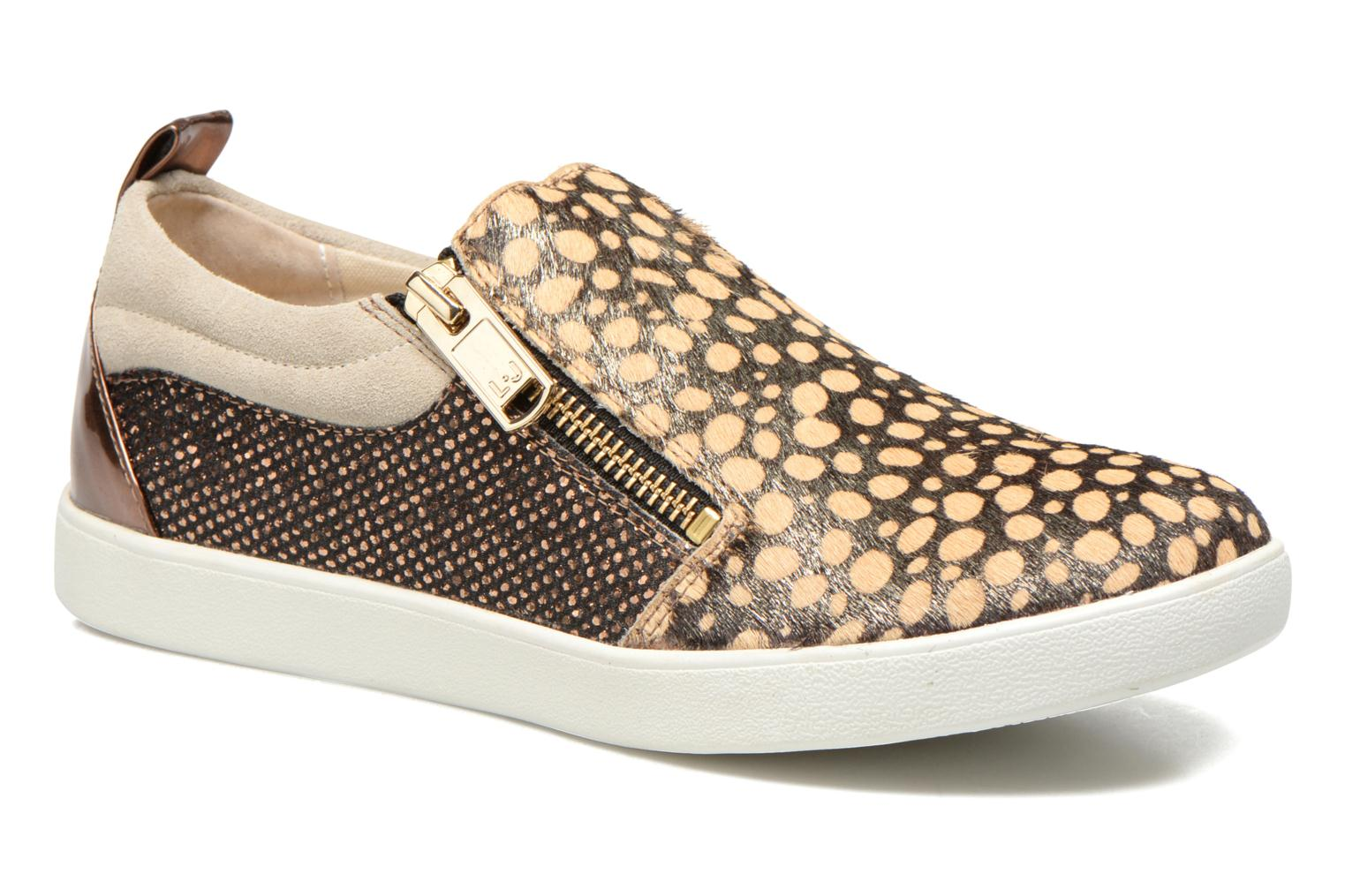 Baskets Liu Jo Slip on Nico Or et bronze vue détail/paire
