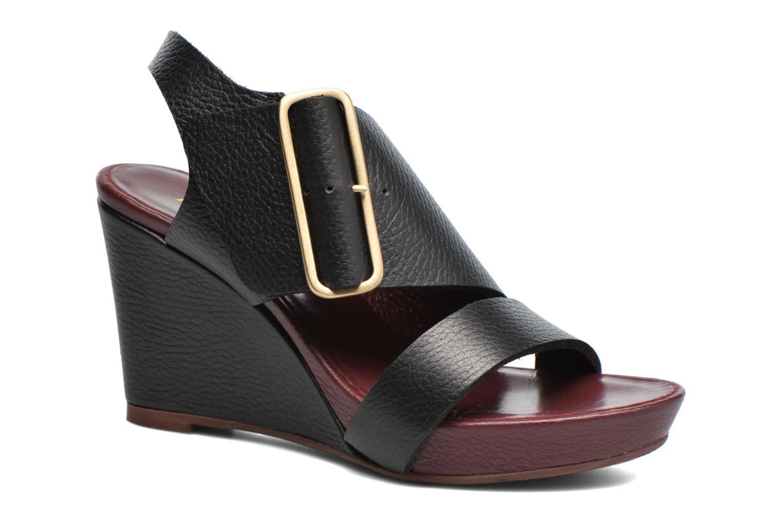 Sandales et nu-pieds Avril Gau Largo Noir vue détail/paire