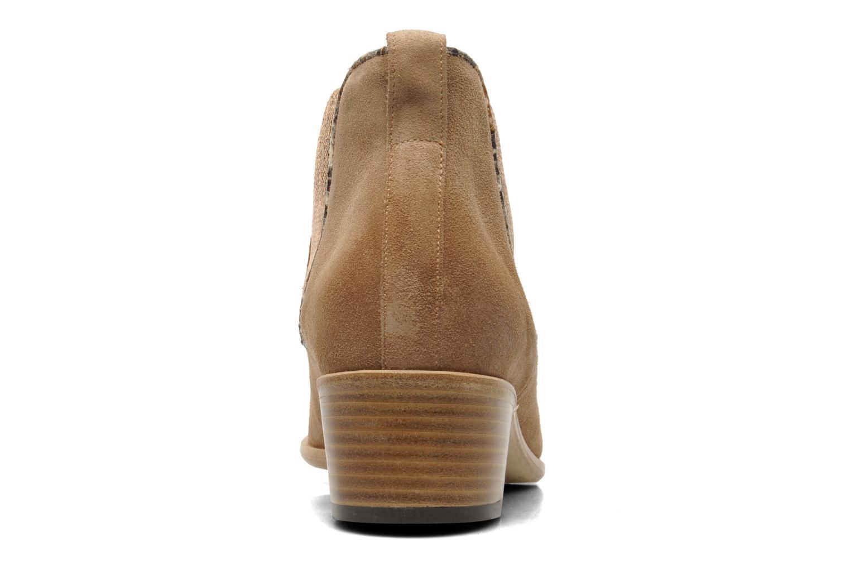 Bottines et boots Georgia Rose Parmak Beige vue droite