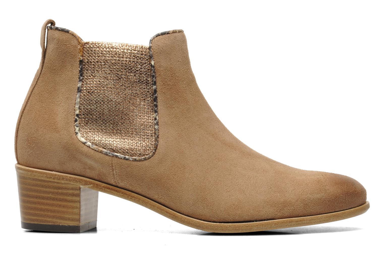 Bottines et boots Georgia Rose Parmak Beige vue derrière