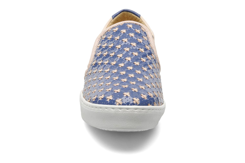 Baskets Georgia Rose Parju Bleu vue portées chaussures