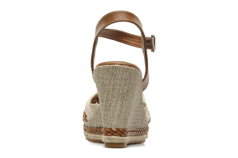 Sandales et nu-pieds I Love Shoes Sukifo Beige vue droite