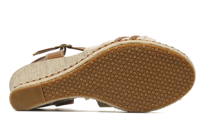 Sandales et nu-pieds I Love Shoes Sukifo Beige vue haut
