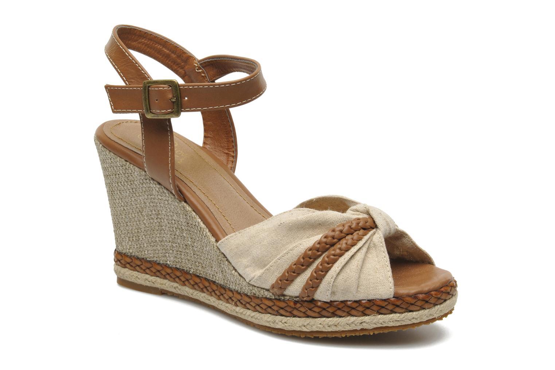 Sandales et nu-pieds I Love Shoes Sukifo Beige vue détail/paire