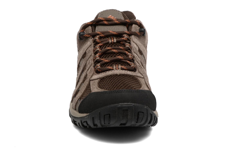 Chaussures de sport Columbia Redmond Marron vue portées chaussures