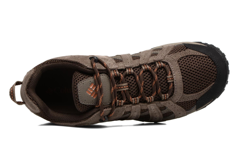 Chaussures de sport Columbia Redmond Marron vue gauche