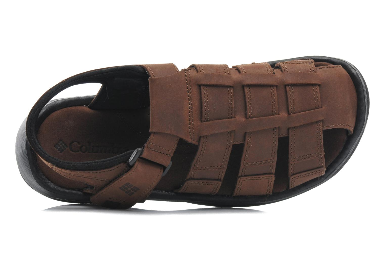 Sandales et nu-pieds Columbia Levanto Marron vue gauche