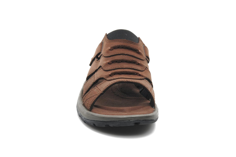 Chaussures de sport Columbia Corniglia II Marron vue portées chaussures