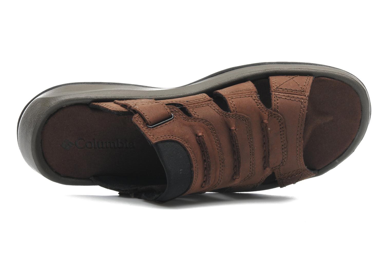 Chaussures de sport Columbia Corniglia II Marron vue gauche