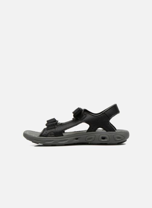 Sandales et nu-pieds Columbia Childrens Techs Noir vue face