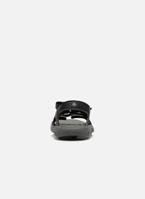 Sandales et nu-pieds Columbia Childrens Techs Noir vue droite