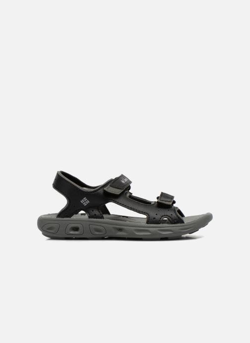 Sandales et nu-pieds Columbia Childrens Techs Noir vue derrière