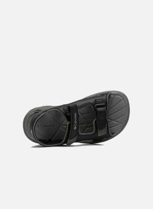 Sandales et nu-pieds Columbia Childrens Techs Noir vue gauche