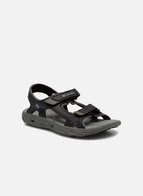 Sandals Columbia Childrens Techs Black detailed view/ Pair view