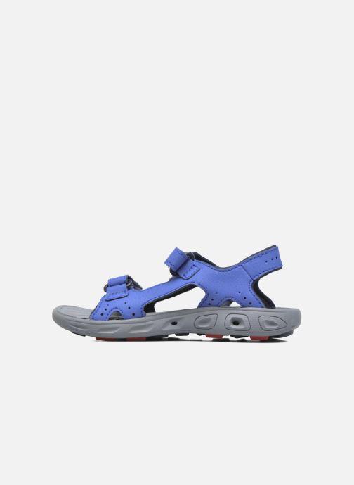Sandalen Columbia Childrens Techs Blauw voorkant