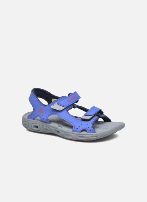 Sandales et nu-pieds Columbia Childrens Techs Bleu vue détail/paire