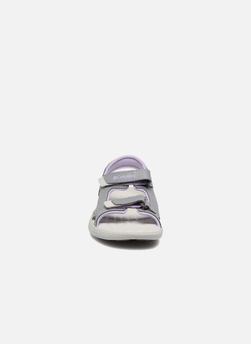 Sandals Columbia Childrens Techs Grey model view