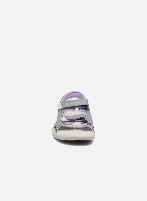 Sandales et nu-pieds Columbia Childrens Techs Gris vue portées chaussures